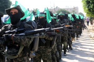 Palestinian Hamas militants
